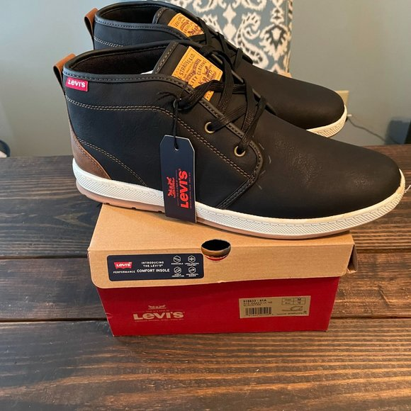 Levi's ACE Waxed Sneaker Mens 10